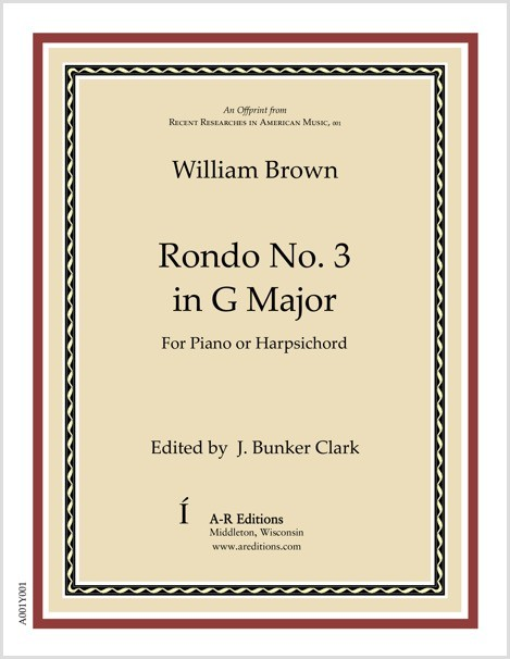 Brown: Rondo No. 3 in G Major