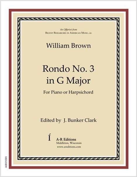 Brown: Rondo No. 3 in G Major