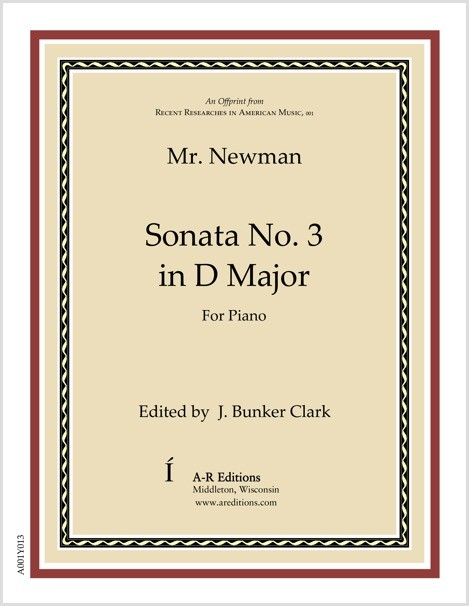 Newman: Sonata No. 3 in D Major