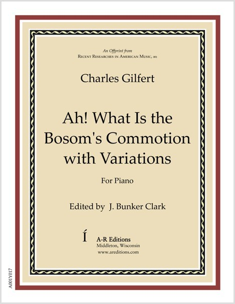 Gilfert: Ah! What Is the Bosom's Commotion with Variations