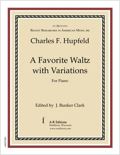 Hupfeld: A Favorite Waltz with Variations