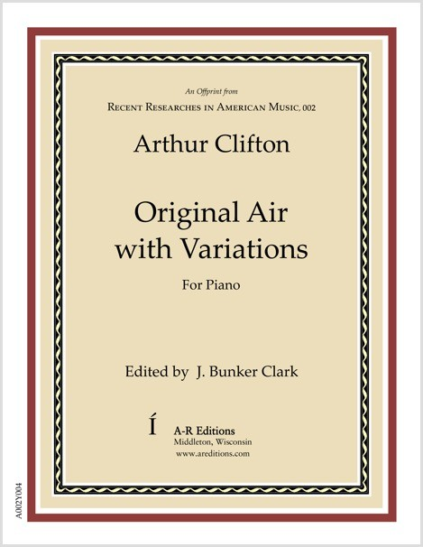 Clifton: Original Air with Variations