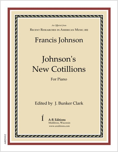 Johnson: Johnson's New Cotillions