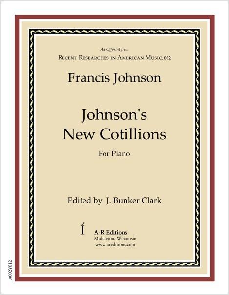 Johnson: Johnson's New Cotillions