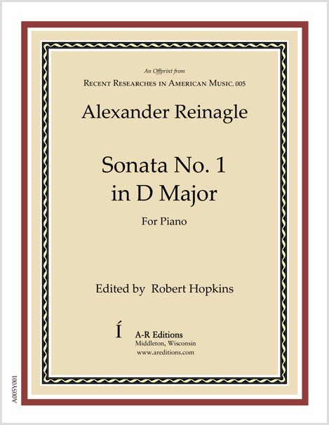 Reinagle: Sonata No. 1 in D Major