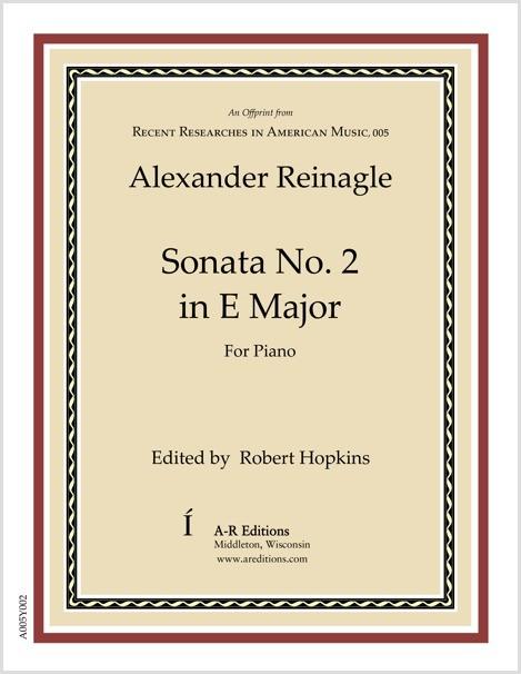 Reinagle: Sonata No. 2 in E Major