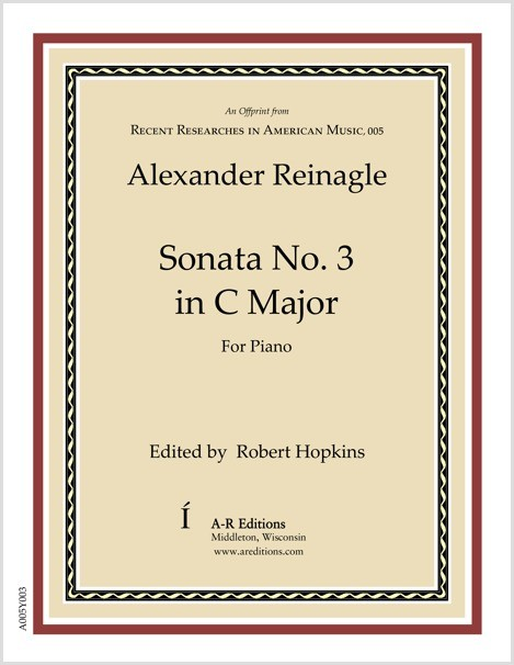 Reinagle: Sonata No. 3 in C Major