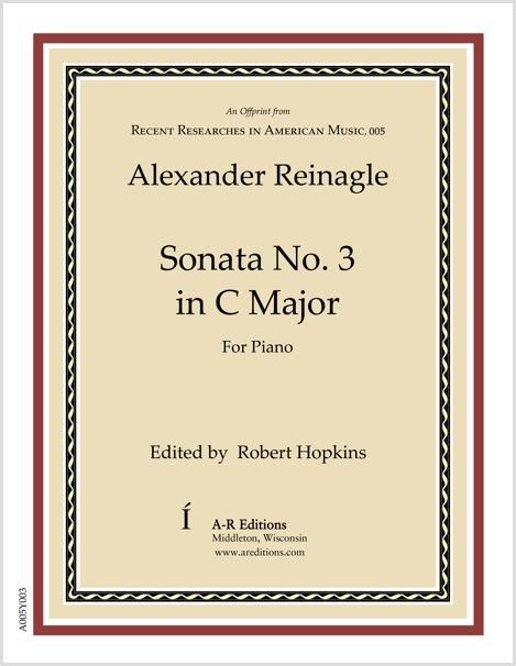 Reinagle: Sonata No. 3 in C Major