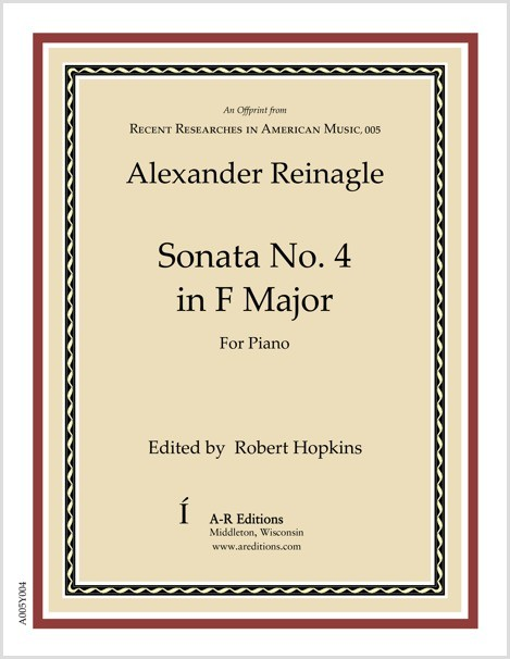 Reinagle: Sonata No. 4 in F Major