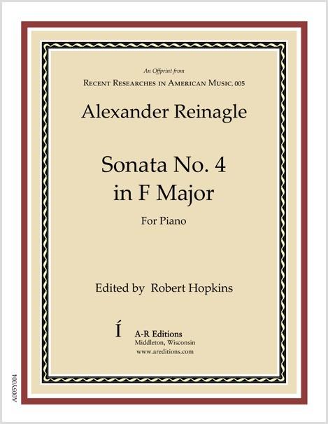 Reinagle: Sonata No. 4 in F Major