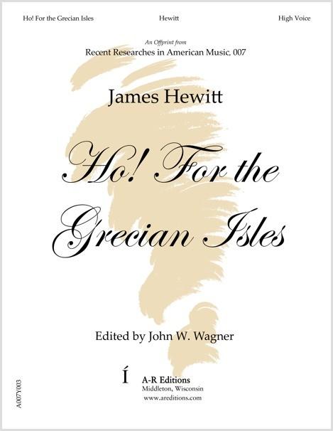 Hewitt: Ho! For the Grecian Isles