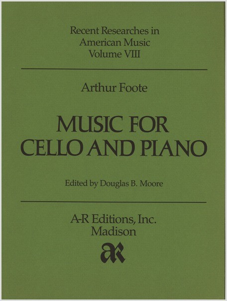 Foote: Music for Cello and Piano