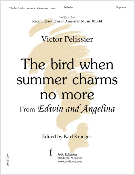 Pelissier: The bird when summer charms no more