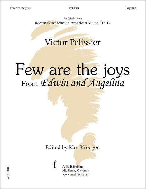 Pelissier: Few are the joys