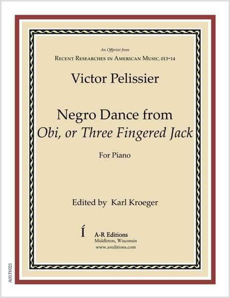 Pelissier: Negro Dance from Obi, or Three Fingered Jack