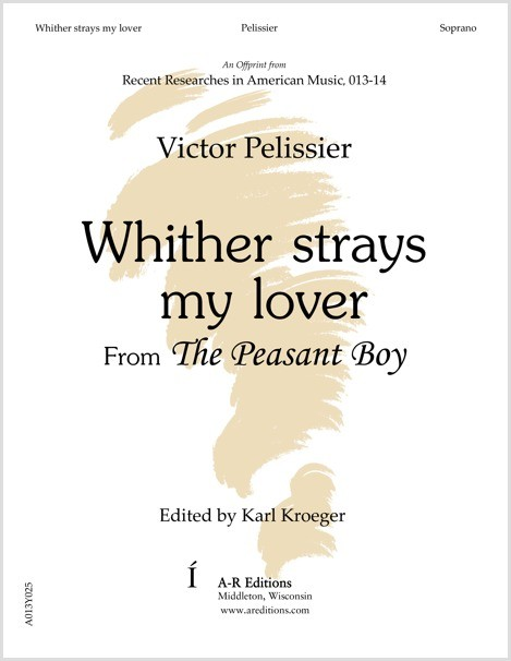 Pelissier: Whither strays my lover