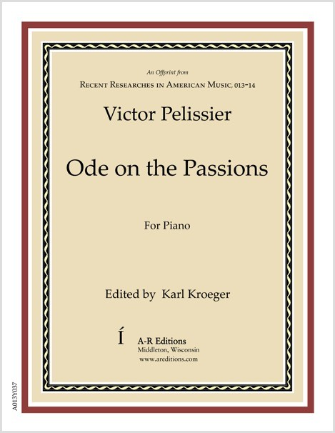 Pelissier: Ode on the Passions