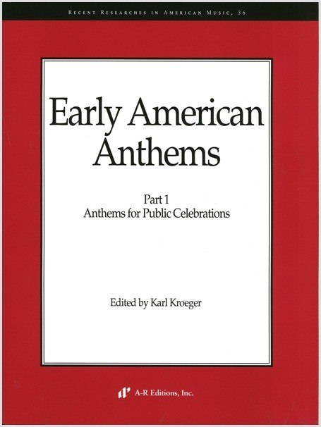 Early American Anthems