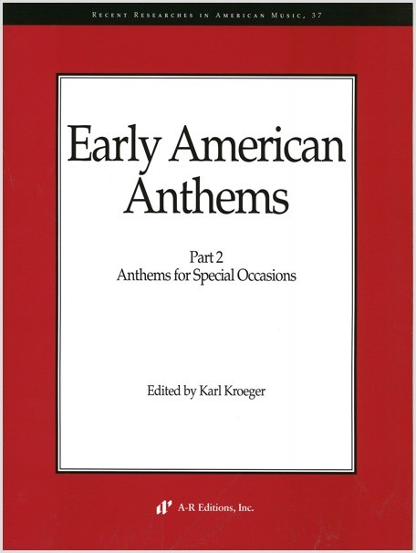 Early American Anthems, Part 2