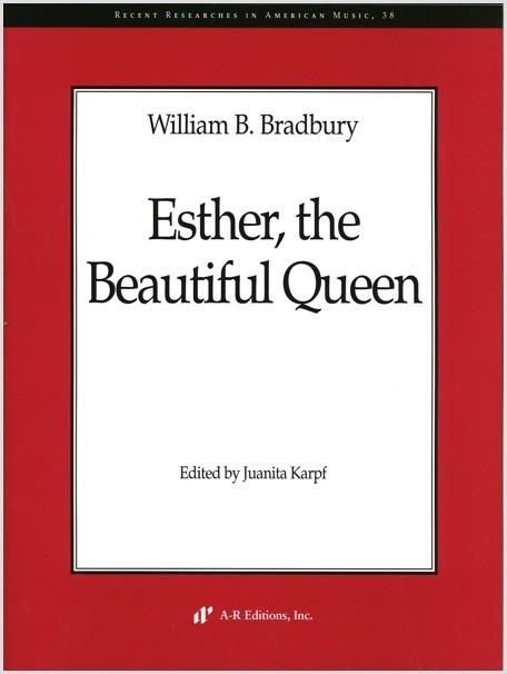Bradbury: Esther, the Beautiful Queen
