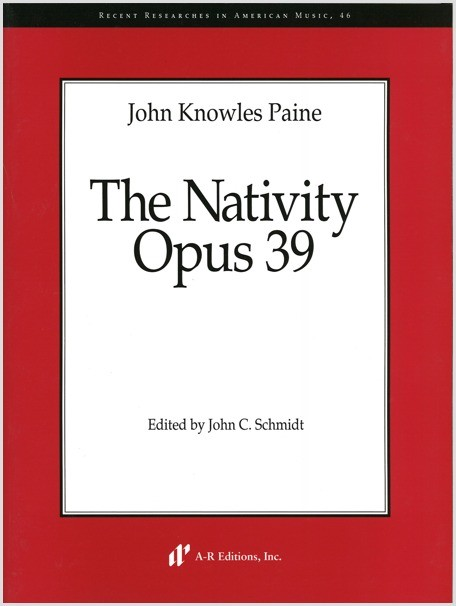 Paine: The Nativity, Op. 39