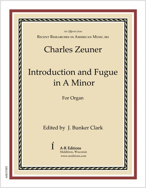 Zeuner: Introduction and Fugue in A Minor