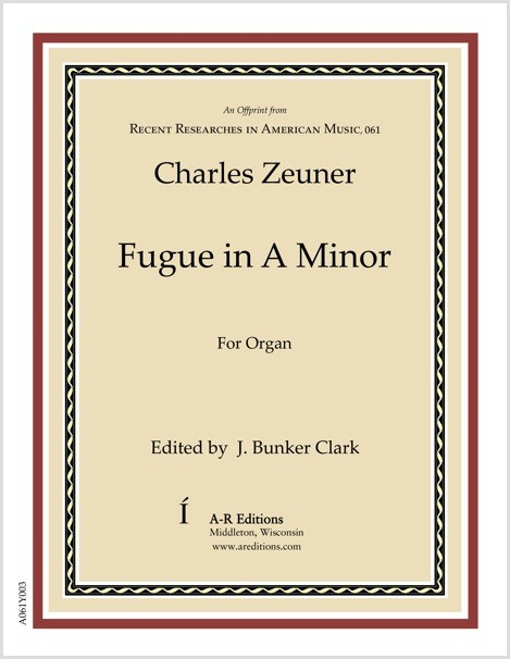 Zeuner: Fugue in A Minor