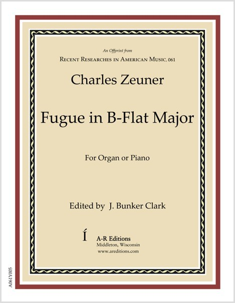 Zeuner: Fugue in B-flat Major
