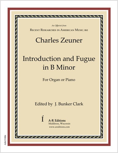 Zeuner: Introduction and Fugue in B Minor