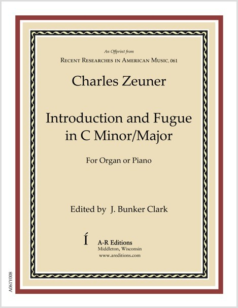 Zeuner: Introduction and Fugue in C Minor/Major