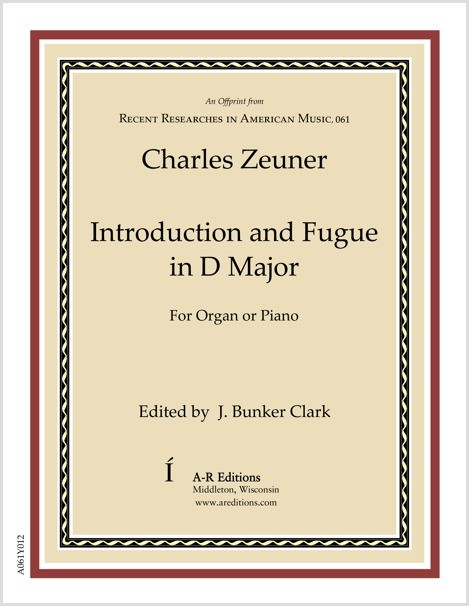 Zeuner: Introduction and Fugue in D Major