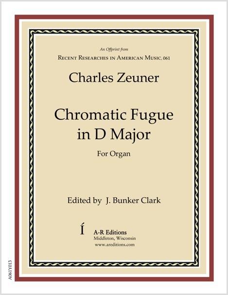 Zeuner: Chromatic Fugue in D Major