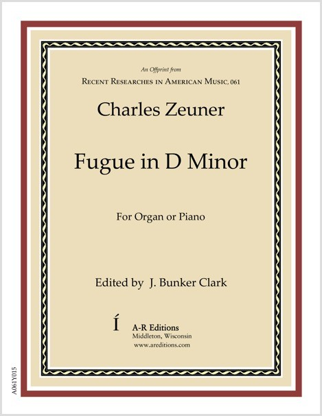 Zeuner: Fugue in D Minor