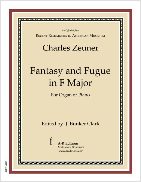 Zeuner: Fantasy and Fugue in F Major