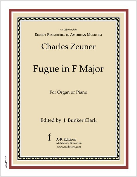 Zeuner: Fugue in F Major