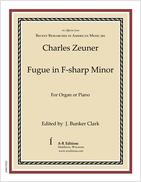 Zeuner: Fugue in F-sharp Minor