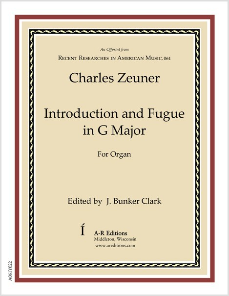 Zeuner: Introduction and Fugue in G Major
