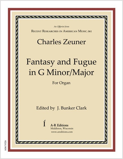 Zeuner: Fantasy and Fugue in G Minor/Major