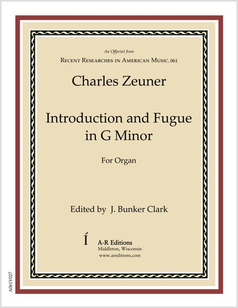 Zeuner: Introduction and Fugue in G Minor
