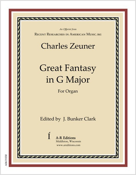 Zeuner: Great Fantasy in G Major