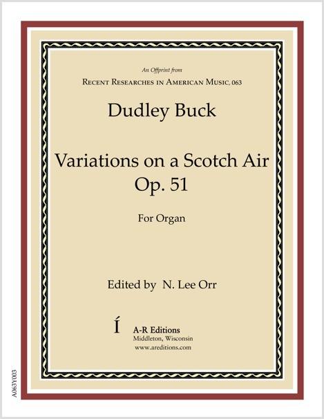 Buck: Variations on a Scotch Air