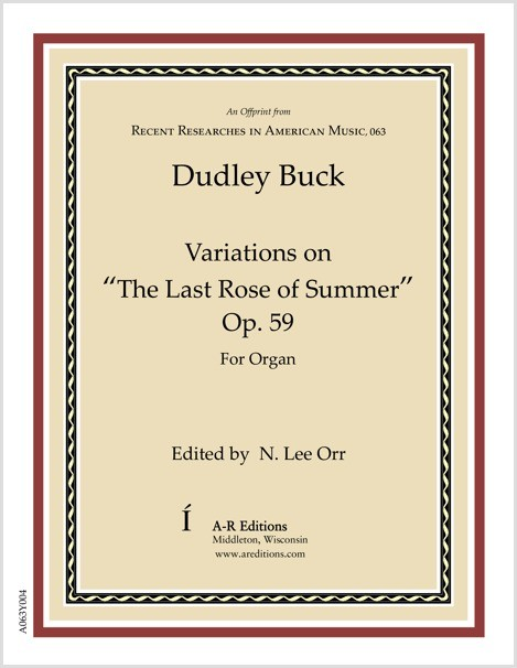 "Buck: Variations on ""The Last Rose of Summer"""