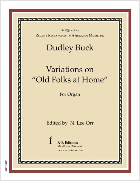 "Buck: Variations on ""Old Folks at Home"""