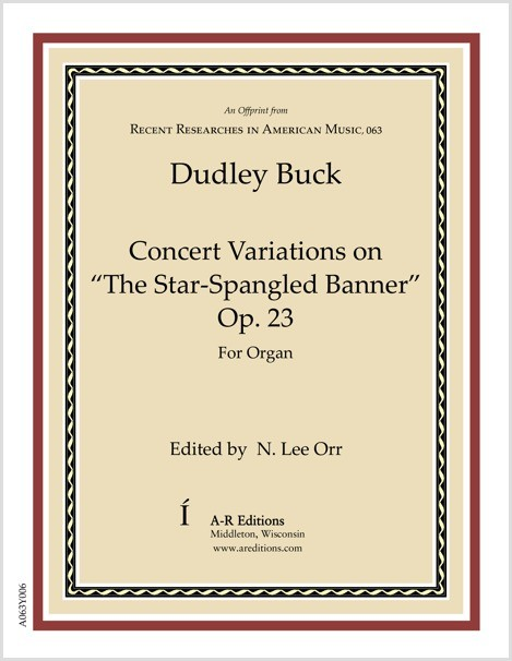 "Buck: Concert Variations on ""The Star-Spangled Banner"""