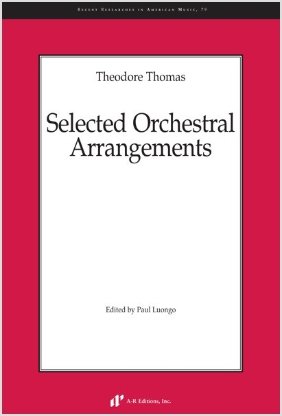 Thomas: Selected Orchestral Arrangements