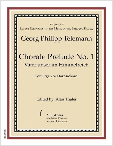 Telemann: Chorale Prelude No. 1