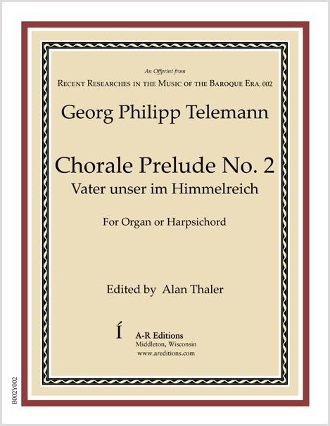 Telemann: Chorale Prelude No. 2