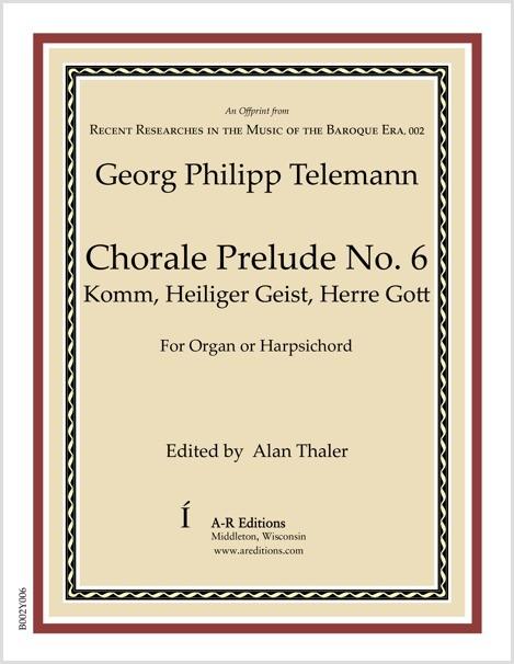 Telemann: Chorale Prelude No. 6