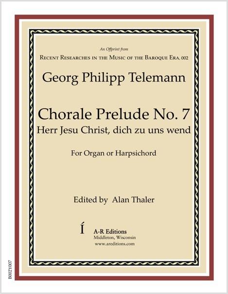 Telemann: Chorale Prelude No. 7