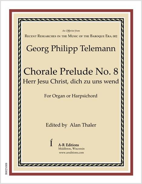 Telemann: Chorale Prelude No. 8